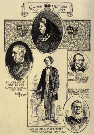 1869 in Canada - Some of the incumbents of 1869