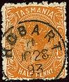 1893 Half penny Tasmania Hobart Yv44 Mi46a SG170.jpg