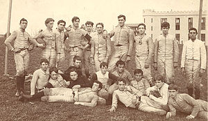 1893 VMI Keydets football team - Image: 1893 VMI Keydets football team