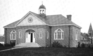 Jonathan Bourne Public Library - Bourne Public Library, Massachusetts, in 1899