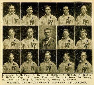 Wichita Aviators (baseball) - The 1907 Wichita Jobbers