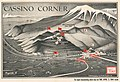 1944 Chapin map of the Battle of Monte Cassino in Italy during World War II for TIME Magazine.jpg