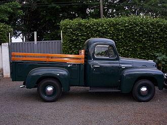 International Harvester - A 1954 R-110 series pickup