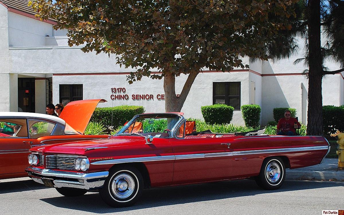 File:1962 Pontiac Bonneville Convertible.jpg - Wikimedia Commons