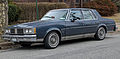 1986 Oldsmobile Cutlass Supreme Brougham sedan, front left.jpg