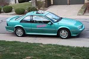Chevrolet Beretta - Image: 1990 Chevy Beretta Indy Pace Car Replica