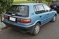 1992 Holden Nova (LF) SLX hatchback (2015-07-19) 02.jpg