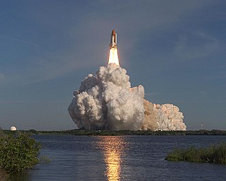 STS-62 - Liftoff of Columbia on STS-62.