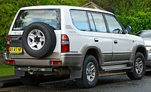 1996 1999 Toyota Land Cruiser Prado Vzj95r Vx Grande Australia