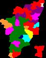 1999 tamil nadu lok sabha election map by parties.png