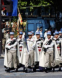 1st Spahis standard guard Bastille Day 2008