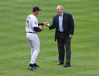 Nolan Ryan - Andy Pettitte and Ryan in 2006