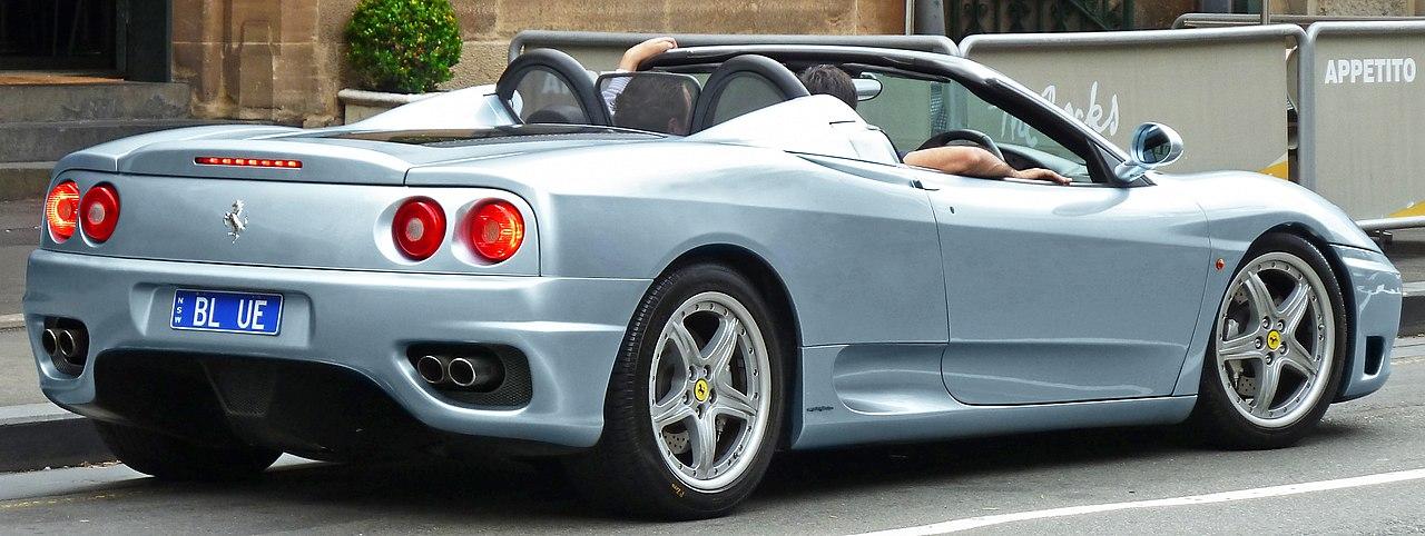 File2000 2005 Ferrari 360 Spider Convertible 2011 11 08g