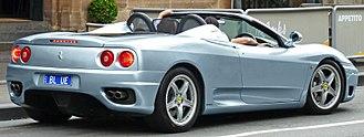 Ferrari 360 - Ferrari 360 Spider