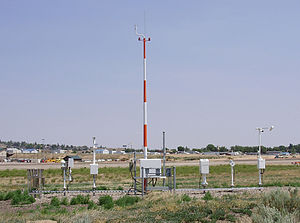 National Weather Service - An Automated Surface Observing System (ASOS).