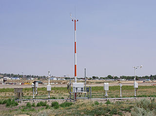 Automated airport weather station