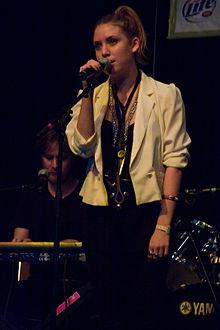 Lykke Li in concerto nel 2008