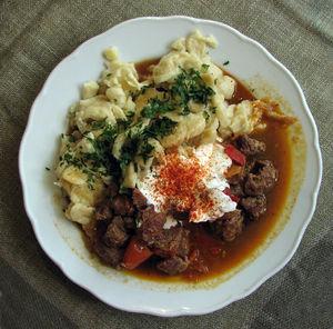 Goulash - Veal Goulash