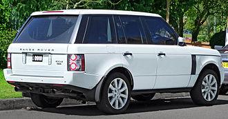 Range Rover - Land Rover Range Rover Vogue (Australia)