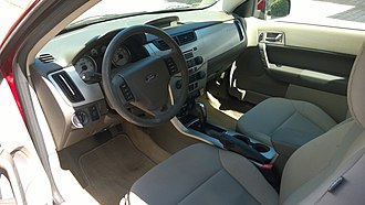 Ford Focus (second generation, North America) - Dashboard