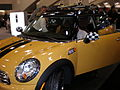 2009 yellow Mini Cooper Clubman side.JPG