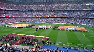 2009–10 UEFA Champions League - Image: 2010 Champions League Final opening ceremony