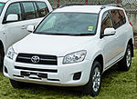 2010 Toyota RAV4 (ACA33R) Altitude wagon, photographed in Chullora, New South Wales, Australia.