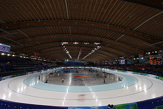 Speed skating rink - Image: 2010 Winter Olympics, Richmond Olympic Oval