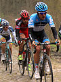 2012 Paris-Roubaix, George Hincapie & Heinrich Haussler (7057785199).jpg