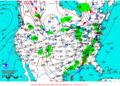 2013-01-14 Surface Weather Map NOAA.png