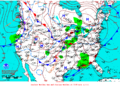2013-02-07 Surface Weather Map NOAA.png