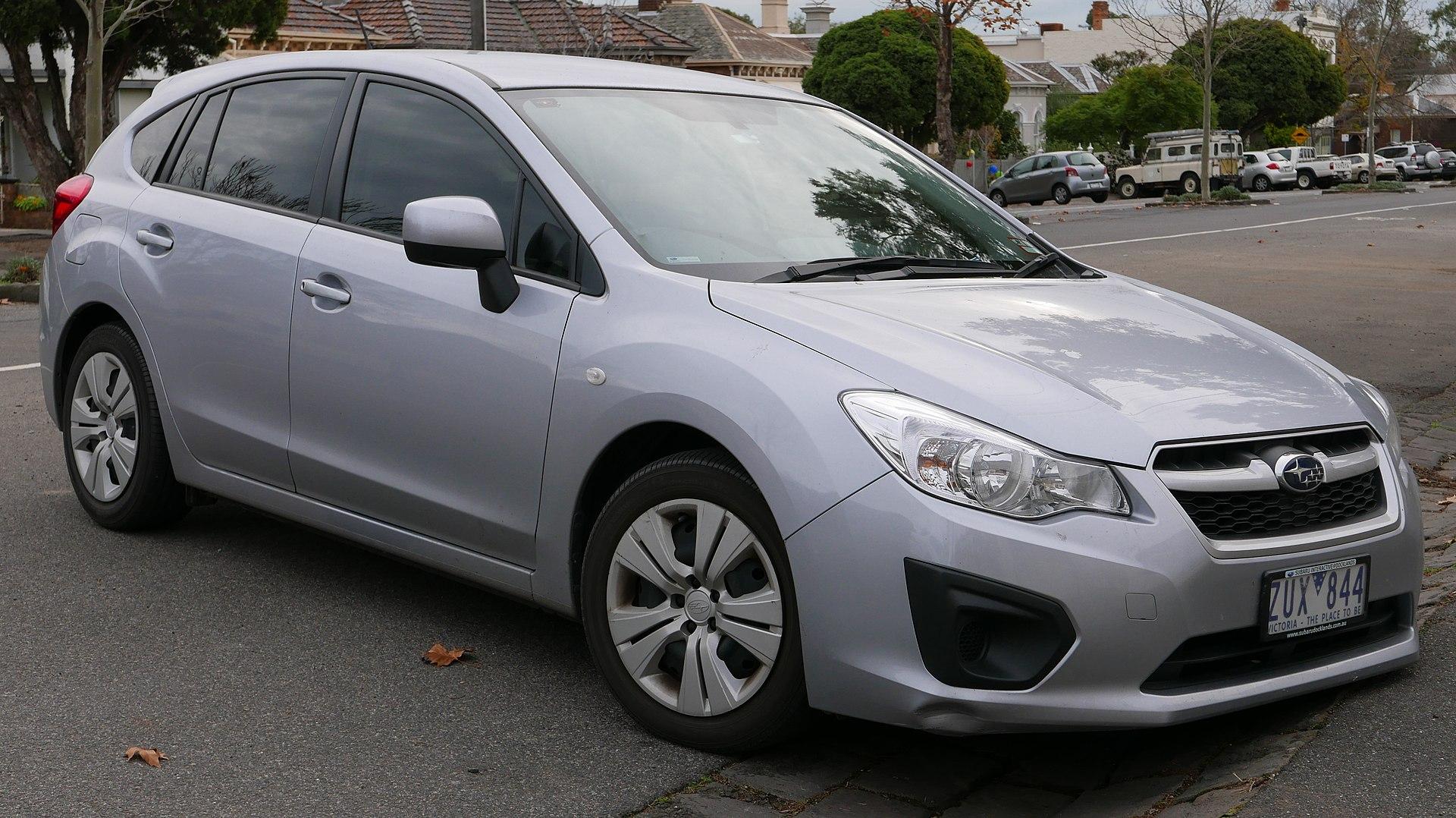 Wrx Cvt 0 60 >> 2018 Subaru Impreza WRX Limited - Sedan 2.0L Turbo AWD CVT auto