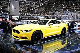 La Ford Mustang di sesta generazione al Salone di Ginevra