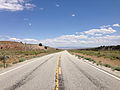 2014-08-09 14 02 18 View east along U.S. Routes 6 and 50 about 85.2 miles east of the Nye County line in White Pine County, Nevada.JPG