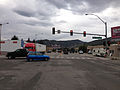 2014-08-11 10 08 18 View west along U.S. Route 50 at the junction with U.S. Route 93 in Ely, Nevada.JPG