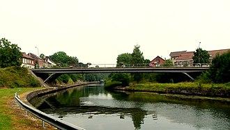 Lanaken - Image: 20140727 Bridge over Zuid Willemsvaart in Smeermaas