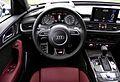 2014 Audi S6 Avant C7 Typ 4G V8 4.0 TFSI S tronic quattro Facelift Cockpit Interieur Innenraum Arrasrot.jpg