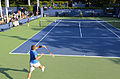 2014 US Open (Tennis) - Qualifying Rounds - James Ward and Vincent Millot (15034800441).jpg