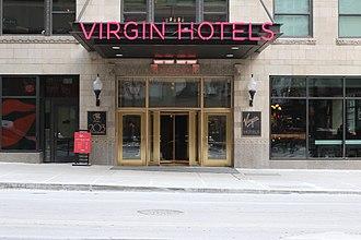 Virgin Hotels Chicago - Virgin Hotels Chicago entrance