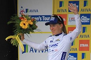 Hannah Barnes British cyclist