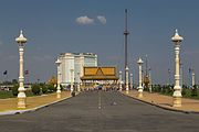 2016 Phnom Penh, Park Królewski, Kaplica Preah Ang Dorngkeu (03).jpg