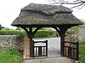 2017-04-26 Covered Gateway into the Parish church of Saint John the Baptist head, Church Street, Trimingham.JPG