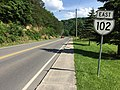 2017-06-11 16 38 07 View east along Virginia State Route 102 (College Avenue) between Rollins Street and Sexton Hill Street in Bluefield, Tazewell County, Virginia.jpg