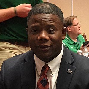 Frank Wilson (American football) - Wilson at 2017 C-USA Media Days
