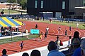 2017 Lone Star Conference Outdoor Track and Field Championships 06 (men's 400m relay finals).jpg