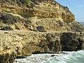 2018-01-01 Cliff footpath at the west end of Praia dos Aveiros, Albufeira (1).JPG