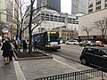 20180327 05 Pace bus Michigan Ave. @ Chicago Ave. (32132214738).jpg