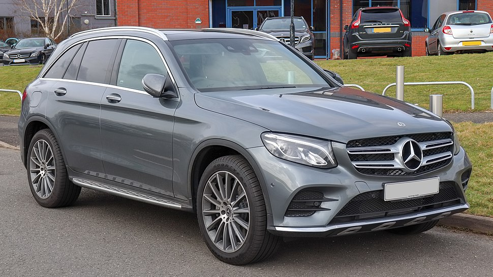 2018 Mercedes-Benz GLC 250d 4MATIC AMG Line Premium Automatic 2.1 Front