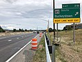 2019-06-18 14 14 18 View south along Interstate 270 (Washington National Pike) at Exit 31B (Maryland State Route 85 SOUTh, Buckeystown) in Ballenger Creek, Frederick County, Maryland.jpg
