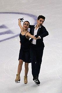Elizaveta Khudaiberdieva Russian ice dancer
